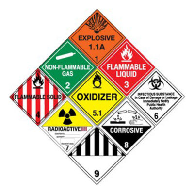 Truck Hazmat Load Sign & Parts
